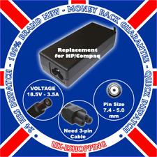 F 65W HP COMPAQ NX6310 NX6325 NC6320 AC ADAPTER CHARGER