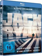JACK RYAN MOVIE COLLECTION (Harrison Ford, Sean Connery) 4 Blu-ray Discs NEU+OVP