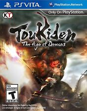 NEW Toukiden: The Age of Demons (PlayStation Vita, 2014)