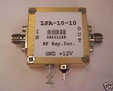 100MHz-10GHz Wideband RF Amplifier, LPA-10-10, New, SMA