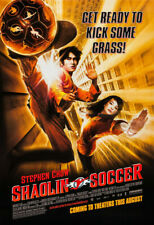 Shaolin Soccer Movie Poster 2 Sided Original 27x40 Stephen Chow Wei Zhao