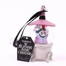 Nightmare Before Christmas Lock Shock Barrel Mini Snowglobe Ornament Disney Park