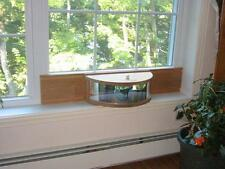 Bird Feeder Inside Mirrored Windowsill Feeder Mahogany For Double Hung Windows