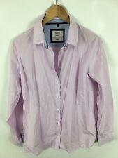 MILANO ITALY Damen Bluse, Größe 42, rosa-weiß kariert, sehr schick, business