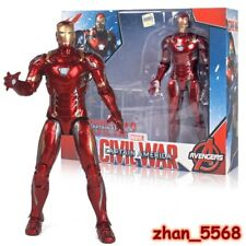 ZD TOYS Marvel Captain America: Civil War Iron Man 7'' Action Figure New In Box