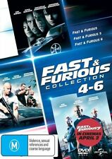 The Fast and Furious 4 - 6 DVD R4