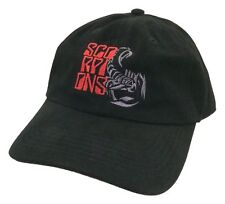 The Scorpions Humanity Tour 2008 Embroidered Black Baseball Hat Cap New Official