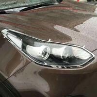 For KIA Sportage 2016 2017 Chrome Front Head light lamp Cover Trim