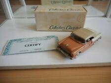 Buby 1955 CHevrolet Top Up in Pink on 1:43 in Box