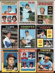 (VA) 1967-75 O-pee-chee Baseball Singles*Select from List see Photo and Price