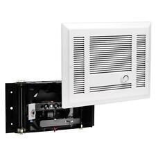 Cadet SL Series 1,500-Watt 120-Volt Electric In-Wall Fan Heater White - SL151TW