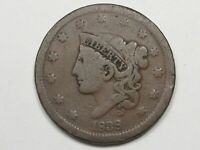 1838 US Coronet Head Large Cent Coin.  #16