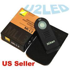 Nikon ML-L3 MLL3 Wireless Remote Control D610 D7500 D5300 D3300 D3400 D7200 1 V3