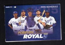 Kansas City Royals--2015 Pocket Schedule--Sprint--Gordon/Cain/Hosmer