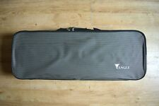 Good lightweight Oblong 'Eagle' Viola Case. American made. Hygrometer,