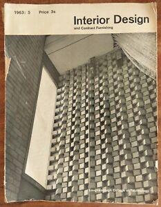 Interior Design & Contract Furnishing Magazine (Sept/Oct 1963)