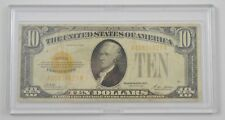 1928 $10.00 Gold Certificate Currency- Fr. 2400 *5961