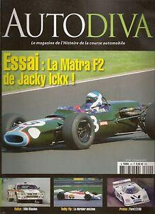 AUTODIVA 20 THEODORE RACING OF HONG KONG F1 FORD C100 1981 83 MATRA F2 1966 1969