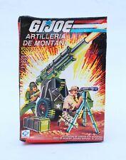 Vintage GI Joe Mountain Howitzer Battle Station MIB Plastirama Argentina