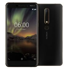 Nokia 6 2018 Dual SIM 32GB/4GB Unlocked Phone China Version Black QQ