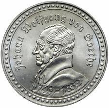 Erinnerungs-Medaille Johann Wolfgang Goethe Faust-Uraufführung Braunschweig 1829