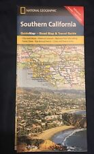 SOUTHERN CALIFORNIA MAP NATIONAL GEOGRAPHIC ROAD MAP & TRAVEL GUIDE WATERPROOF