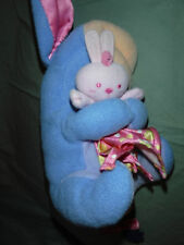 "Mattel Eeyore Baby Rattle 10"" w/Lovee Plush Soft Toy Stuffed Animal"