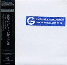 ESPLENDOR GEOMETRICO Live in Barcelona 1994 CD 2010 LTD.300