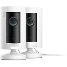 2 Pack Ring Indoor Cam Plug-In HD Security Camera, Two-way Talk Works w/ Alexa