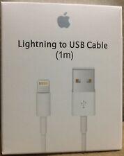 New Authentic Original Apple iPhone 5 5C 5S 6 6+ 7 8 plus  X Lightning USB Cable
