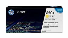 HP 650A Yellow Original LaserJet Toner Cartridge (CE272A),Yield 15,000