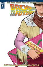BACK TO THE FUTURE #8 Subscription Variant NM- IDW Comic - Vault 35