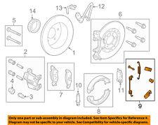 FORD OEM Brake-Rear-Park Brake Shoes Mount Kit 6W1Z2A225AA
