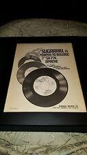 Sugarhill Gang Apache Rare Original Promo Poster Ad Framed!