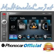Phonocar Autoradio Doppio Din USB AUX IN GPS Touch Bluetooth VM069 VM 069