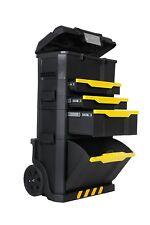 Stanley - Carro / Caja Herramientas  Plastico Con Ruedas  - Taller Móvil Modular