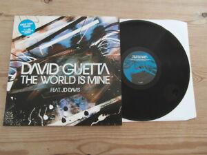 "DAVID GUETTA-THE WORLD IS MINE feat.JD DAVIS-SUPERB AUDIO-12"" VINYL-Nr MINT-2004"
