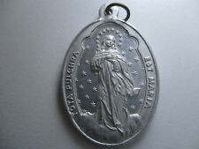 Religious medal virgin-Daughters of the purisima concepcion de maria