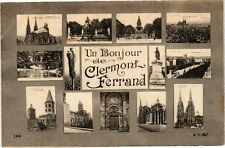 CPA  Un Bonjour de Clermont-Ferrand   (221963)