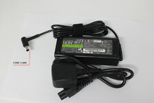 Replacement Sony Vaio 19.5V 4.7A LAPTOP CHARGER AC ADAPTER  + Power Lead