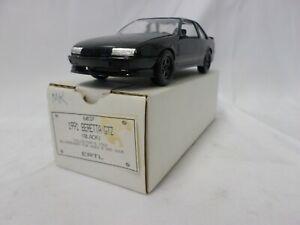 AMT Ertl 1991 Beretta GTZ 1:24 Black Promo Collectors Car 6037 Plastic New
