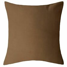 """Plain Dyed Cushion Cover 100% Percale Cotton 14""""x14"""" to 30""""x30"""""""