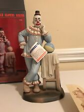 Clown Figurine Paul Jung Neat Make Up Famous American Clowns Figurine