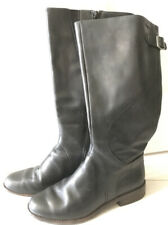 Clarks Goretex Black Leather Boots Size 5.5
