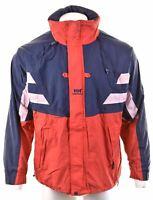 HELLY HANSEN Mens Windbreaker Jacket Size 38 Medium Red Nylon  LN27
