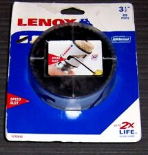 "3-1/2"" Lenox Tools 1772012 Bi-Metal Speed Slot Hole Saw"
