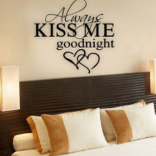 Bedroom Art Wall Stickers 3D Picture Removable Home Decor Vinyl Tile Decal Mural