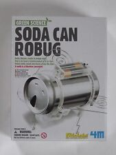 Green Science ... Soda Can Robug - Kidz Labs Fun Science Products!!
