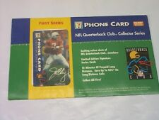 1997 NFL 7-ELEVEN TELEPHONE CARD COLLECTION OF FIVE NFL CARDS, RARE