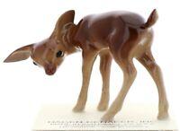 Hagen-Renaker Miniature Ceramic Deer Figurine Sister Doe Head Down